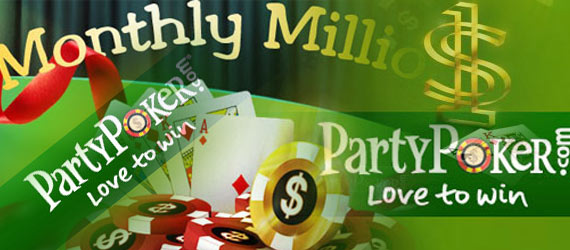 PartyPoker Monthly Million возвращается