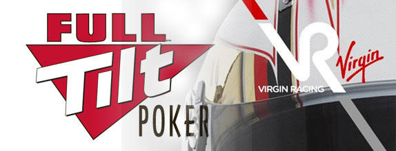 Full Tilt Poker и Virgin Racing стали партнерами